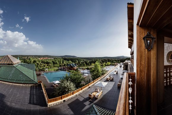 Michlifen Hotel, Ifrane, Morocco. Photo by Alan Keohane www.still-images.net for Michlifen Hotel